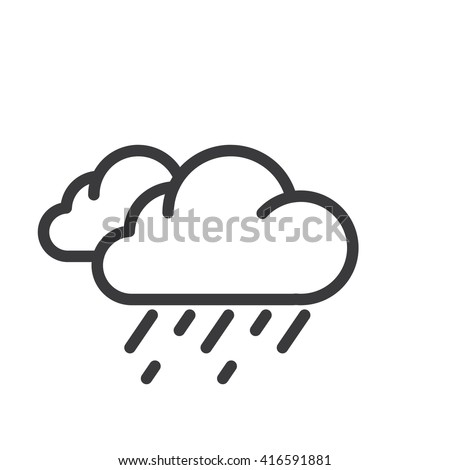 Hard Rain Icon