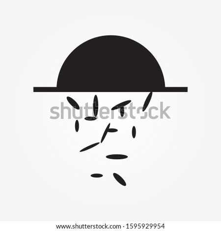 Hard Rain icon in trendy flat style isolated on background. Hard Rain icon page symbol for your web site design Hard Rain icon logo, app, UI. Hard Rain icon Vector illustration, EPS10.