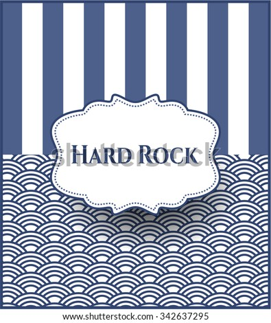 Hard Rock card, colorful, nice design
