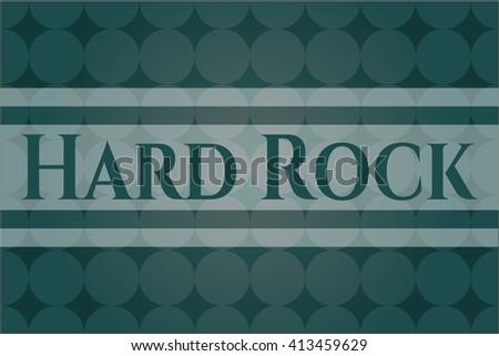 Hard Rock card or banner