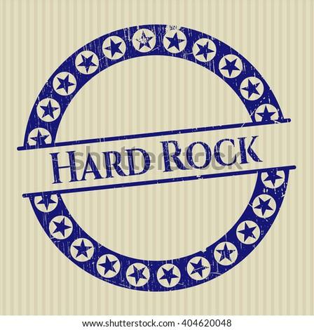 Hard Rock grunge seal