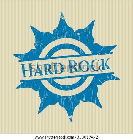 Hard Rock rubber seal