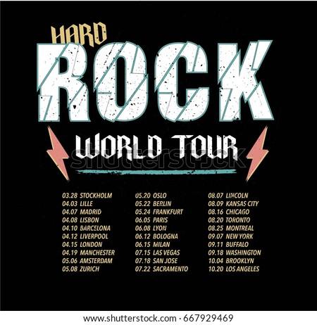 hard rock world tour