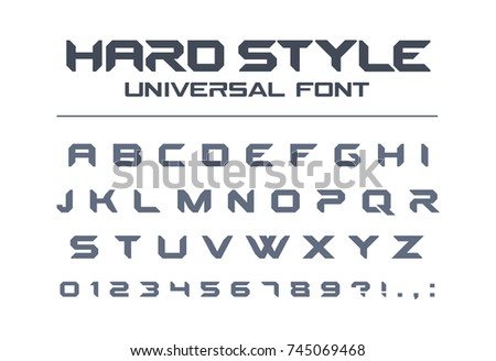 digital font and number download free vector art stock graphics