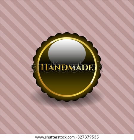 Hardware shiny emblem or badge