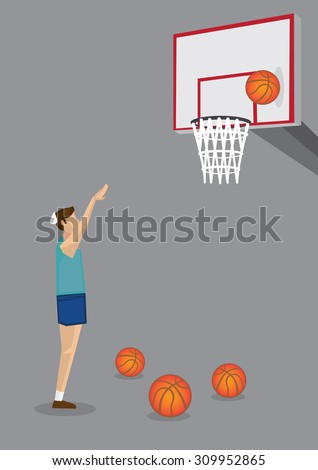 hardworking male basketball