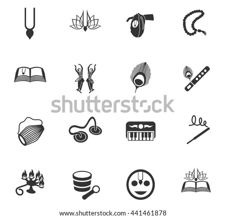 hare krishna web icons for user