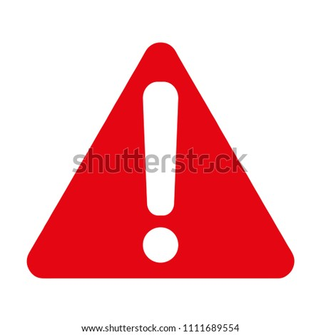 Harmful Symbol, Warning sign, Vector illustration, EPS10. #1111689554