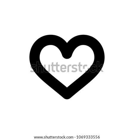 hart icon  vector illustration