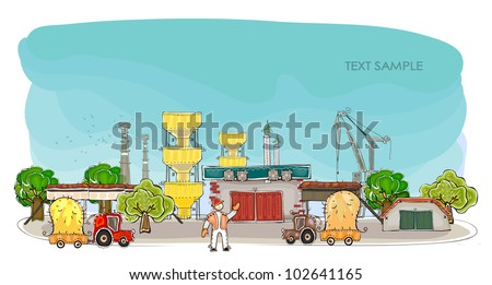 """Harvest time in the factory Happy world"""" collection"""