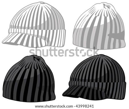 Hats. Vector illustration