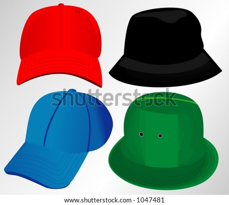 Hats vector package