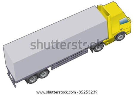 Haulage, lorry or truck longer version