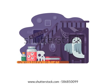 haunted house flat