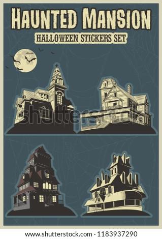 Haunted Mansion Helloween Set