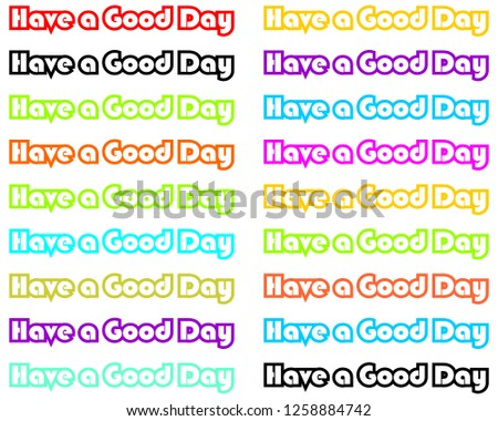 free have a nice day vector card download free vector art stock