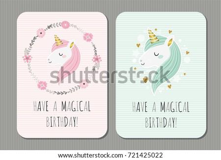 have a magical birthday cute