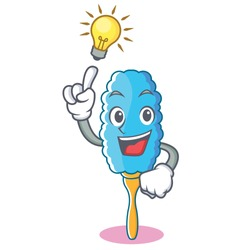 Have an idea feather duster character cartoon