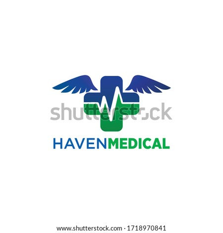 haven medical logo vector and