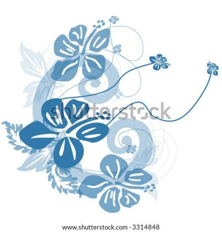 Hawaiian Flowers FREE printable PDF crochet pattern