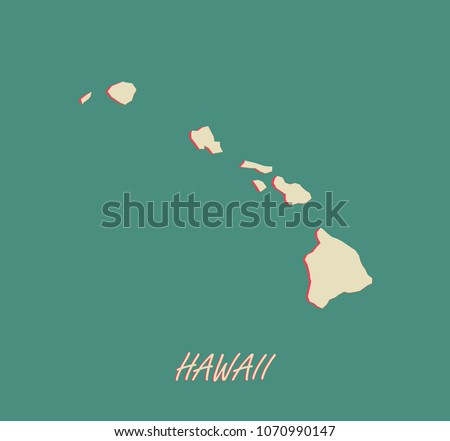 Hawaii Map Download Free Vector Art Stock Graphics Images