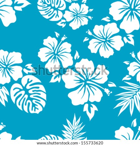 hawaiian aloha shirt seamless