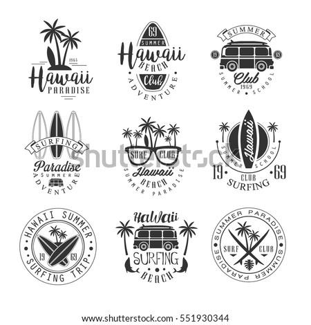hawaiian beach surfing vacation