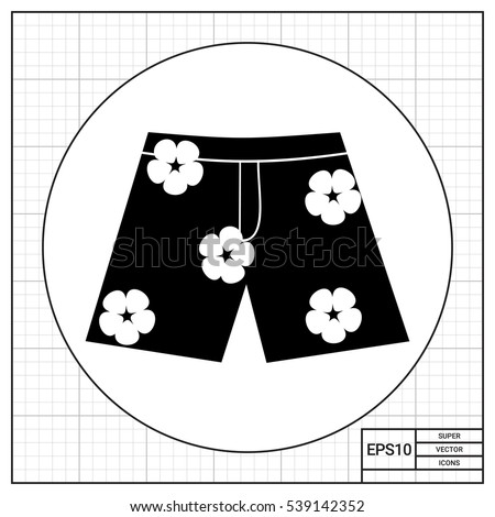 hawaiian shorts icon