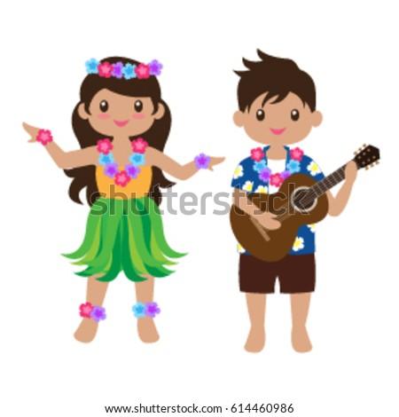 Hawaiian Teens Luau