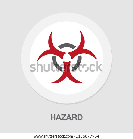 hazard icon dangerous symbol - biohazard symbol symbol - danger sign