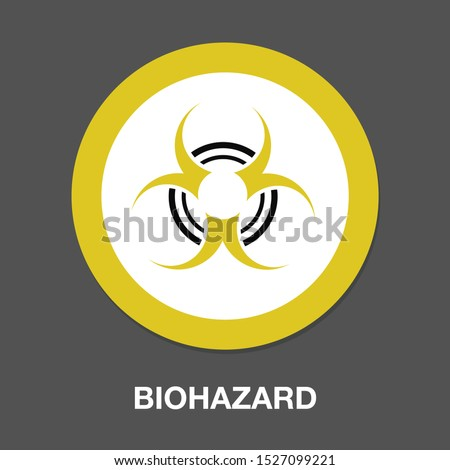 hazard icon dangerous symbol - biohazard symbol symbol - danger sign