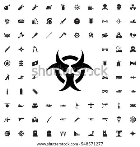 hazard icon illustration