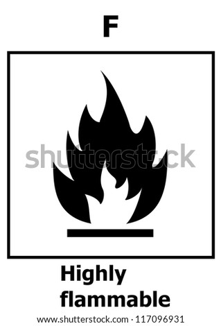 Hazard symbol - Highly flammable
