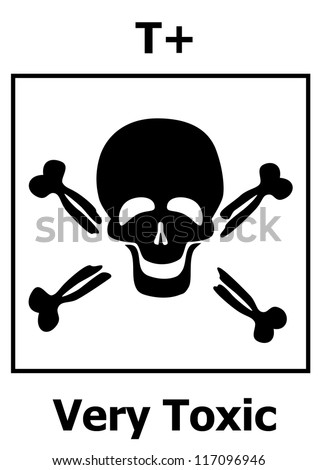 Hazard symbol - Very toxic