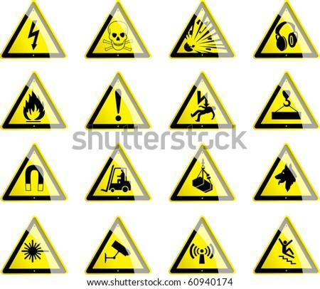 Hazard Symbols 1