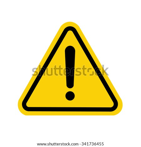 Shutterstock Hazard warning attention sign