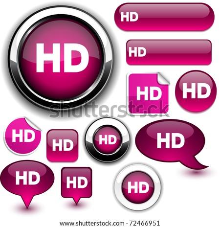 HD fuchsia signs.