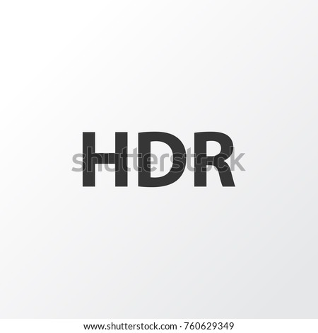 hdr icon symbol premium