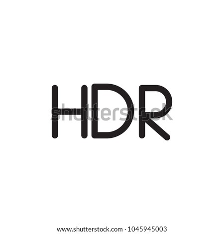 hdr image filled vector icon