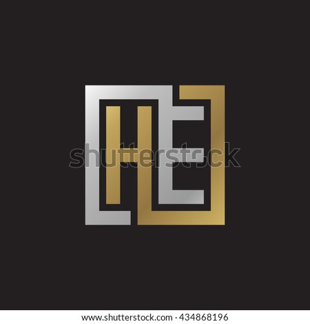 he initial letters looping