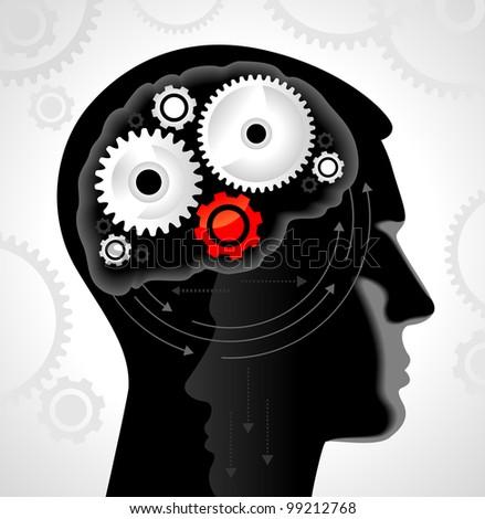 Head and Brain Gears in Progress.