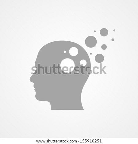 head and circles