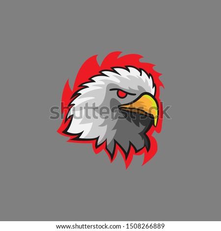 head eagle violent logo e sport