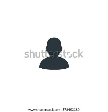 Head icon vector
