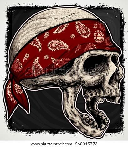stock-vector-head-skull-wear-bandana