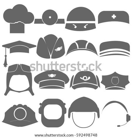 Headdress, profession, logo, symbol, icon.