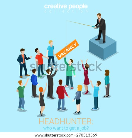 headhunter hr job offer vacancy
