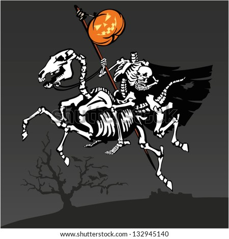 headless rider an illustration