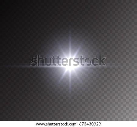 headlight or camera flash light