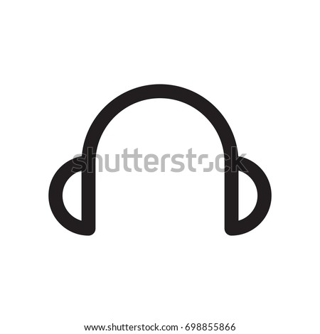 headphone icon logo